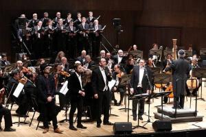 קונצרט ירושלים. החזנים
